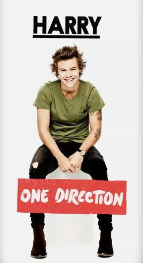 Harry in 1D's official 2015 calender