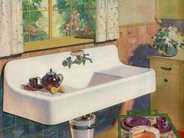 Removing 1920 S Cast Iron Kitchen Sink Cast Iron Kitchen Sinks Kitchen Inspiration Design Vintage Sink