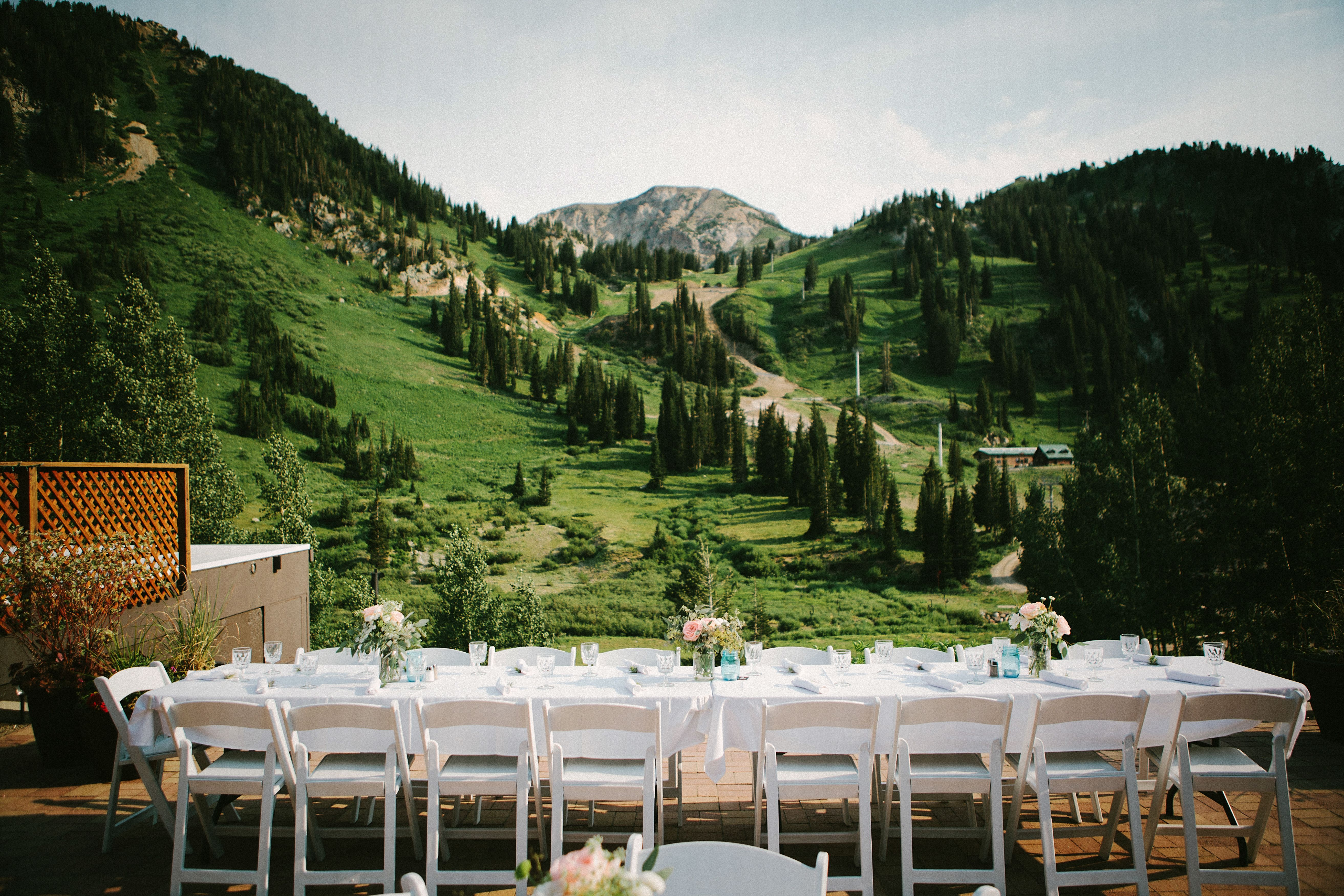 Alta Lodge mountain wedding | Wedding venues utah ...