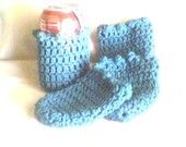 Beverage Cozies - Teal - set of 4