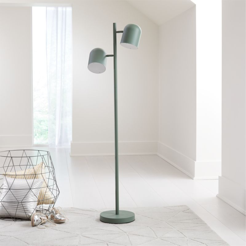 Green Touch Floor Lamp Reviews Crate And Barrel In 2020 Touch Floor Lamp Kids Floor Lamp Nursery Floor Lamp