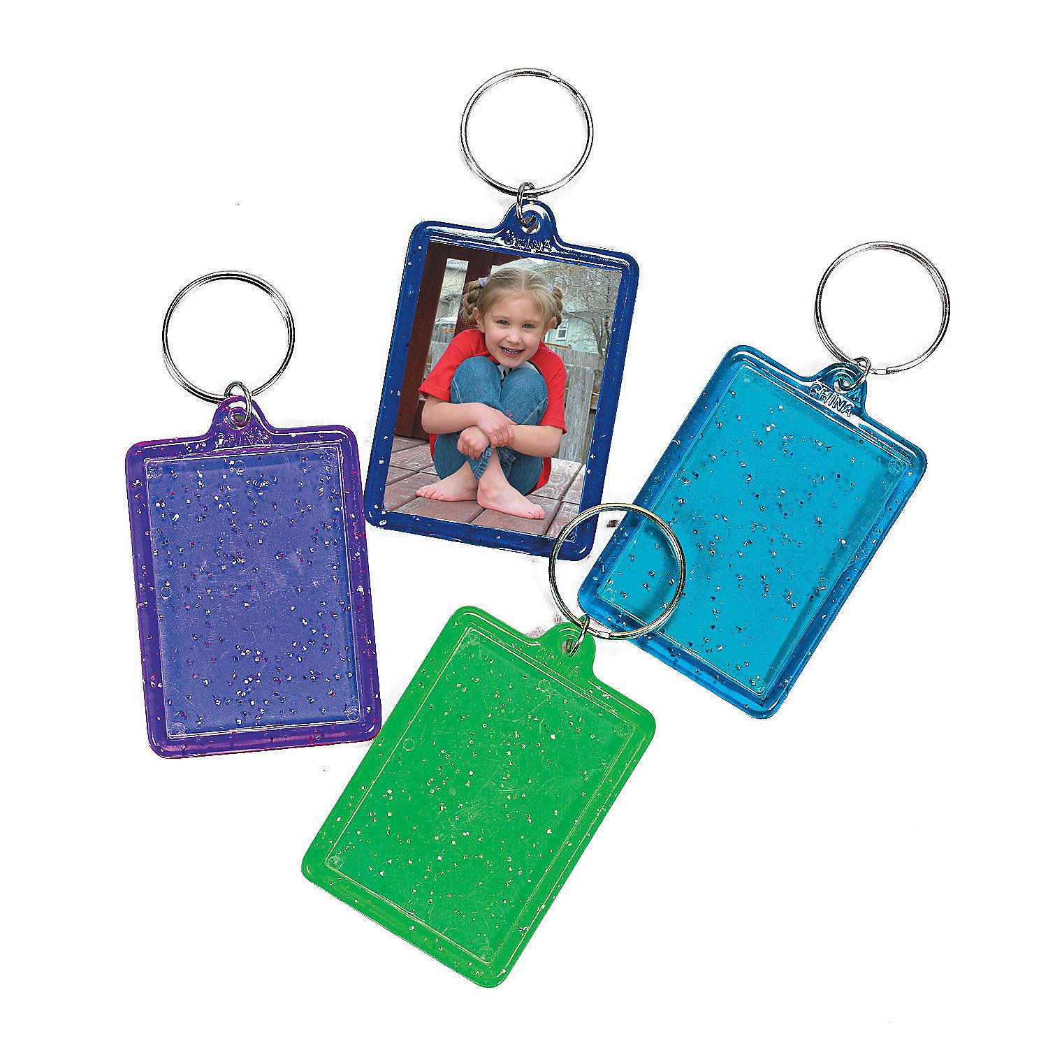 Glitter picture frame keychains glitter pictures key chains and glitter picture frame keychains jeuxipadfo Image collections