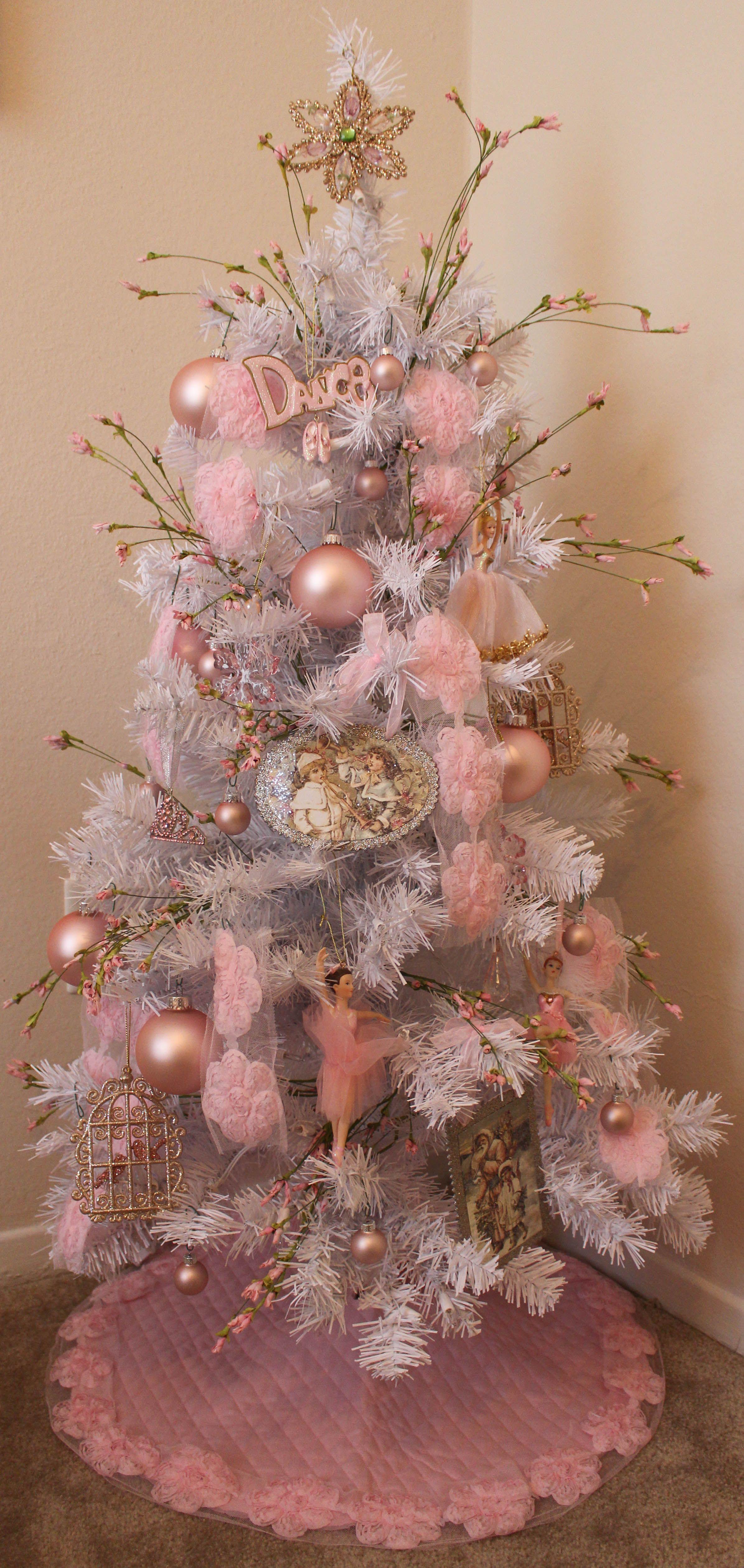 Ballet Inspired Tree In My Little Girls