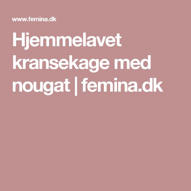 Hjemmelavet kransekage med nougat | Femina