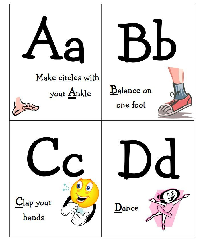 11 Sets Of Free Printable Alphabet Flashcards Your Child Will Love