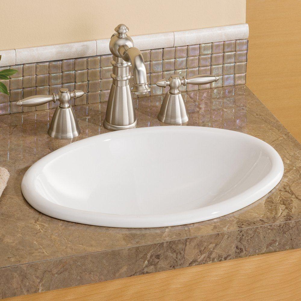 Small Overmount Bathroom Sink