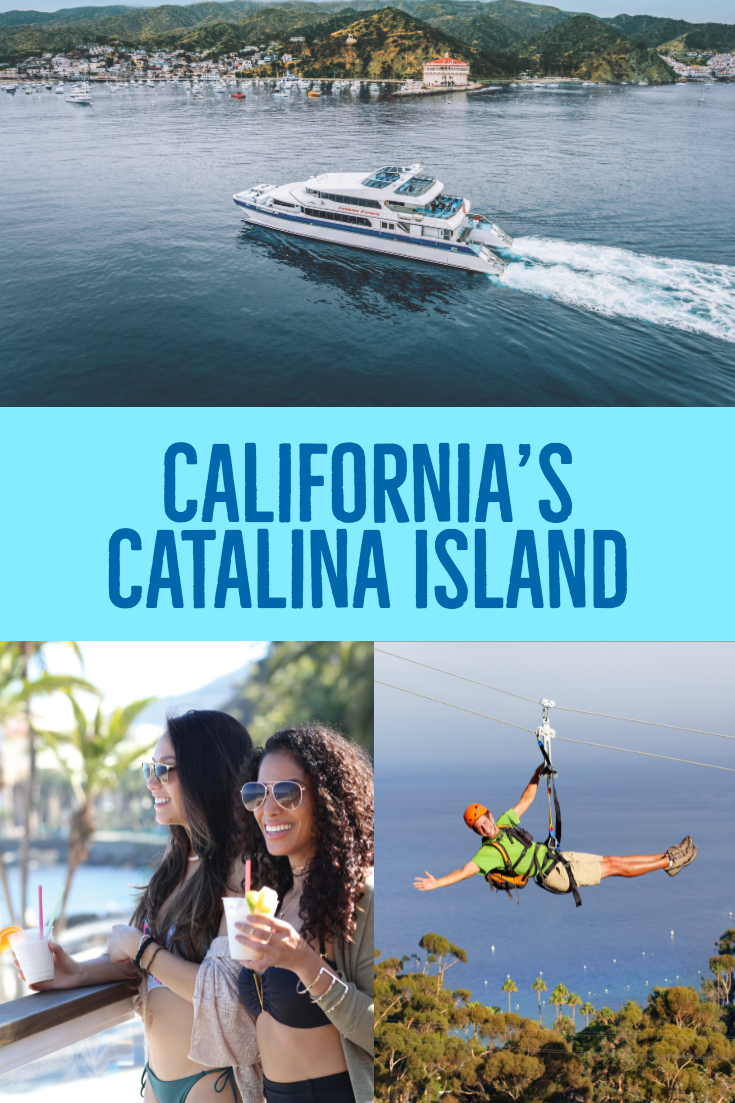 California S Catalina Island Is Just An Hour Away With Year Round Boat Transportation And Up To 30 Departures Daily Catalina Island Beautiful Beaches Catalina