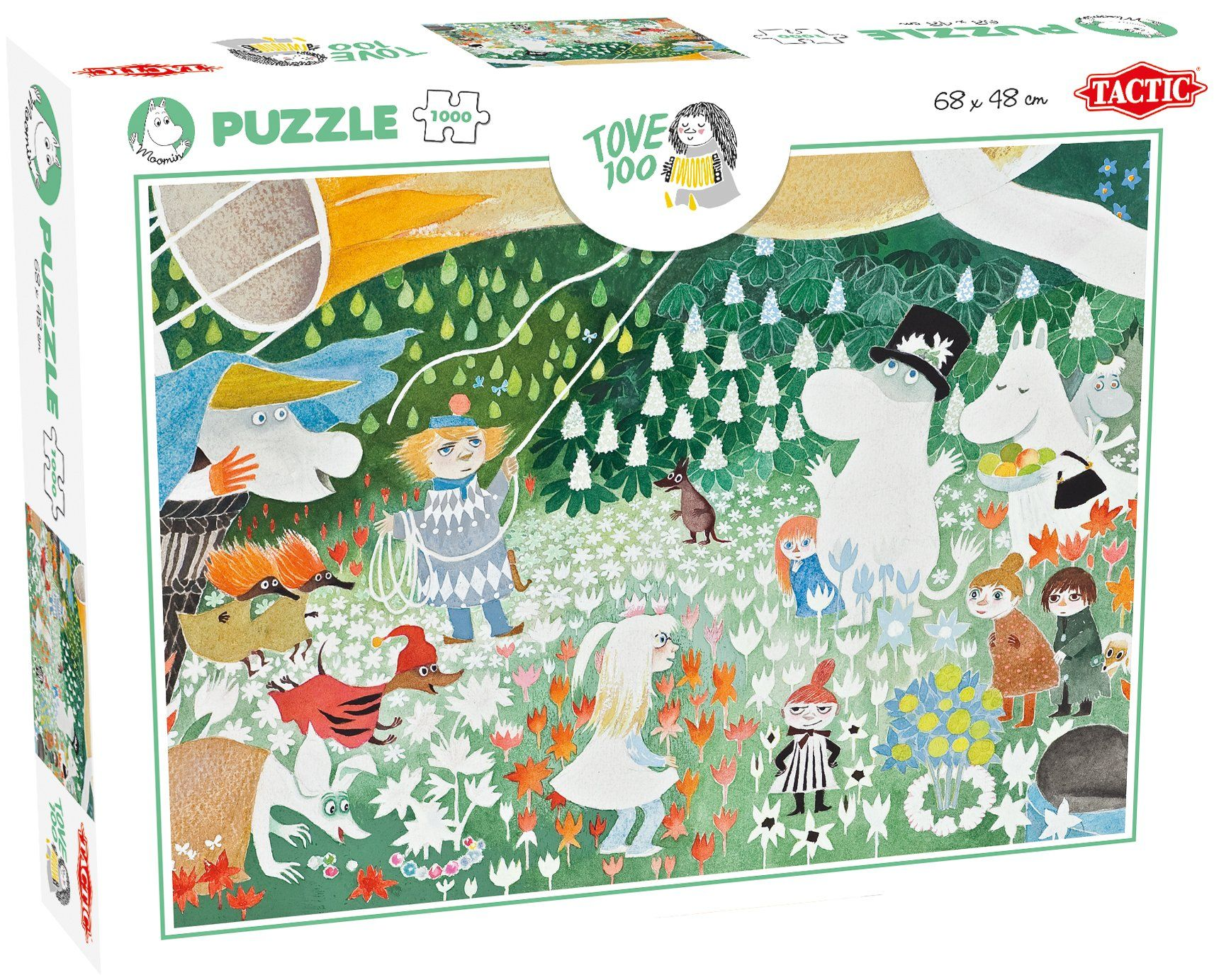 1000pc Tove Moomin 100th Anniversary Jigsaw Puzzle