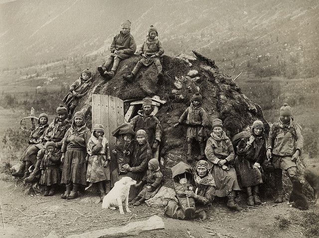 Northern Sweden Nomad Sami People About 1880 Old Photos Photo Sami