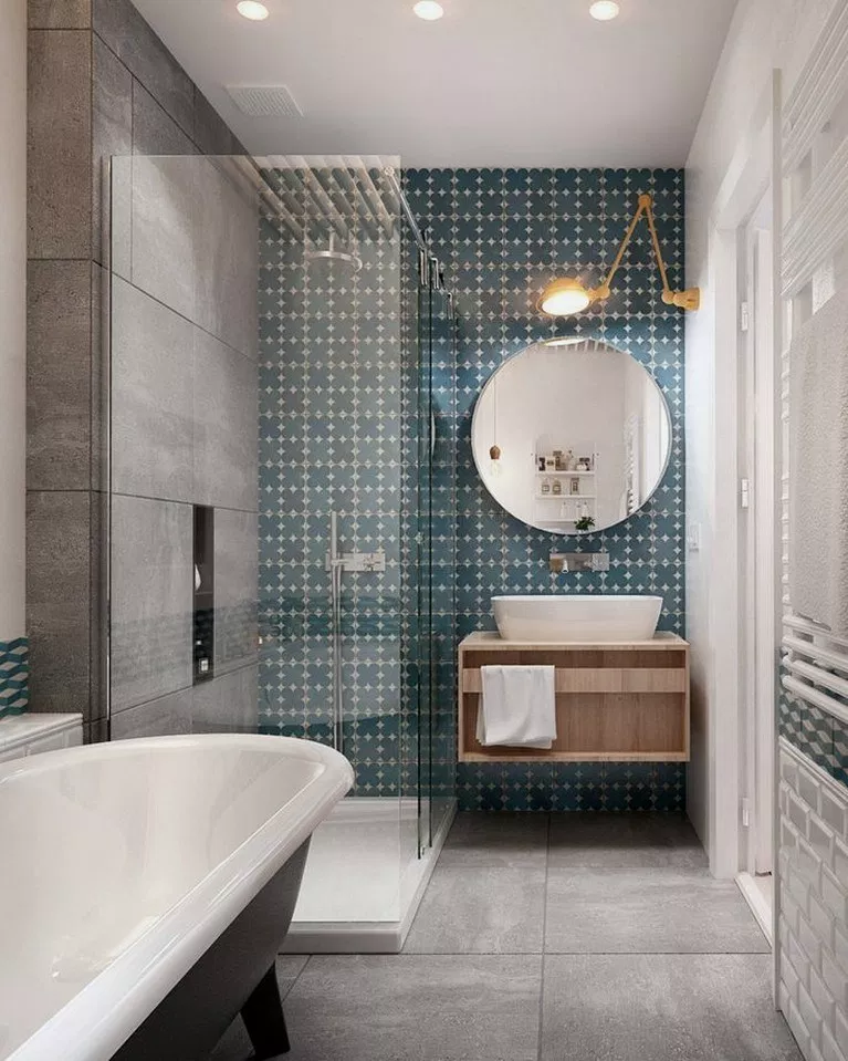 33 Helpful Creating Bright Bathroom Ideas 00020 Small Space Bathroom Small Bathroom Ensuite Bathroom Designs