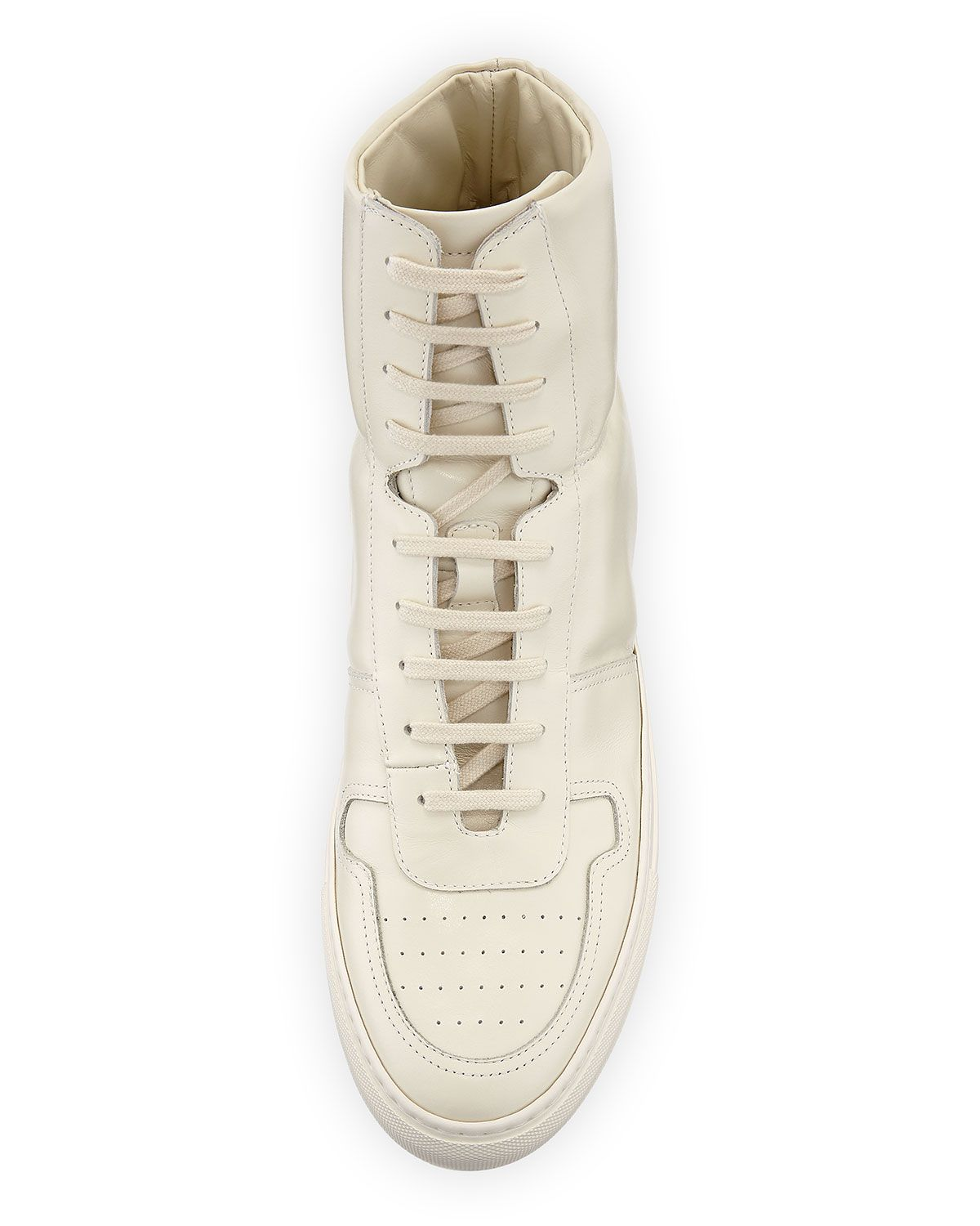aa87f2c9bc9 Common Projects Men s BBall Leather High-Top Sneakers