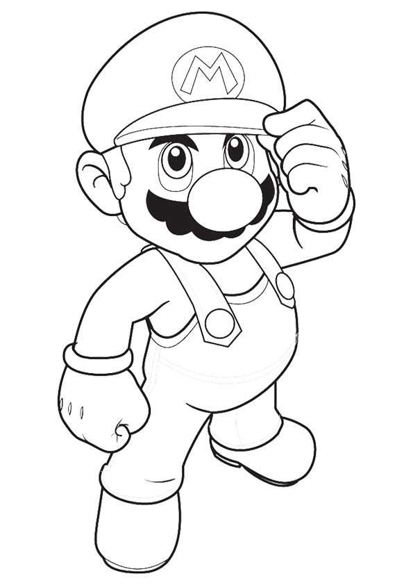 Print Coloring Image Momjunction Super Mario Coloring Pages Mario Coloring Pages Coloring Books