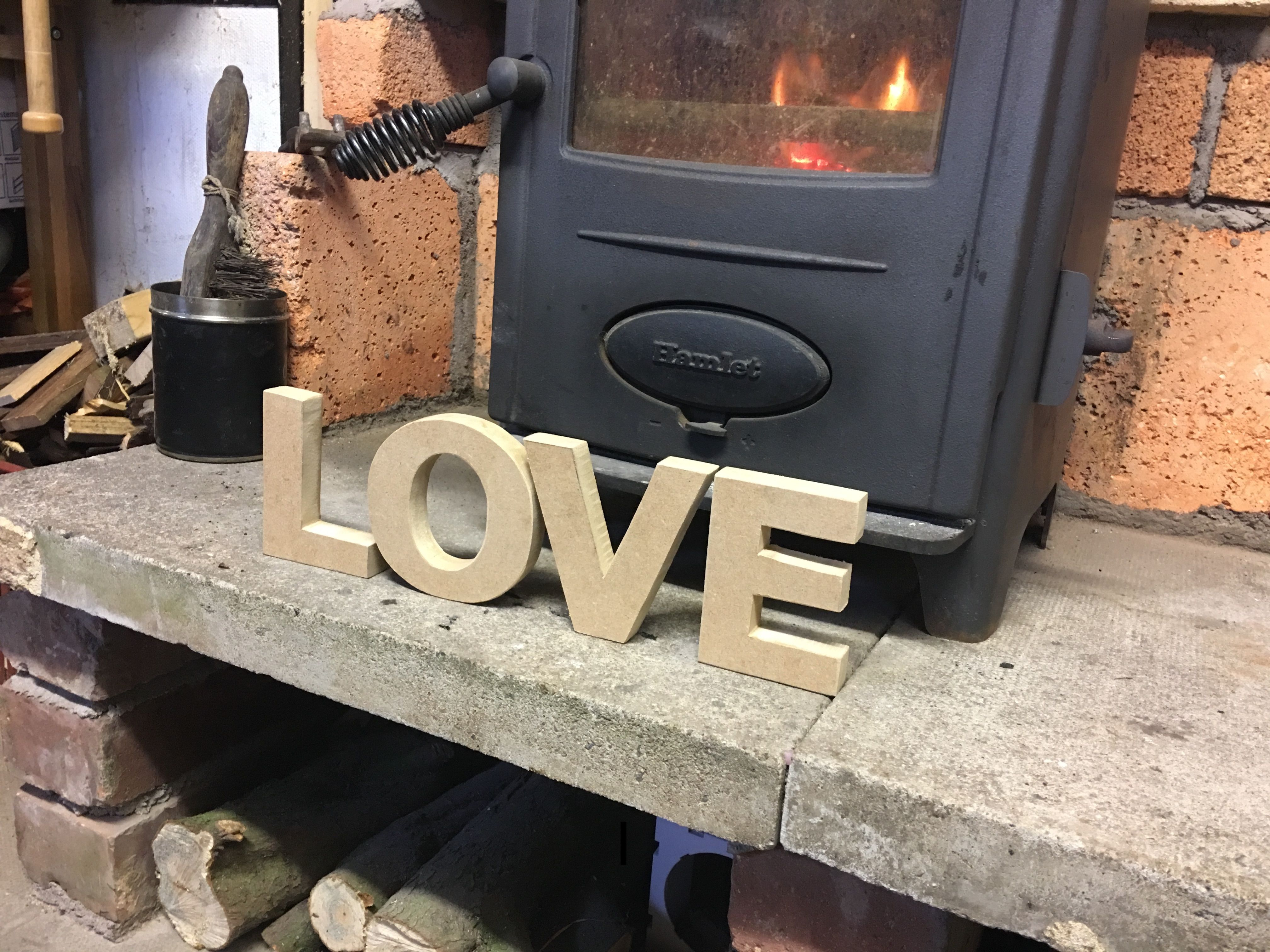 Handmade Wooden Letters Valentine S Day Gifts Love Handmade Gifts