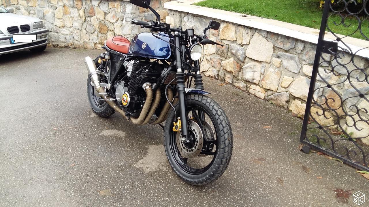 Yamaha Xj 900 Scrambler Bobber Cafe Racer Motos Seine Maritime Leboncoin Fr Cafe Racer Bobber Motos