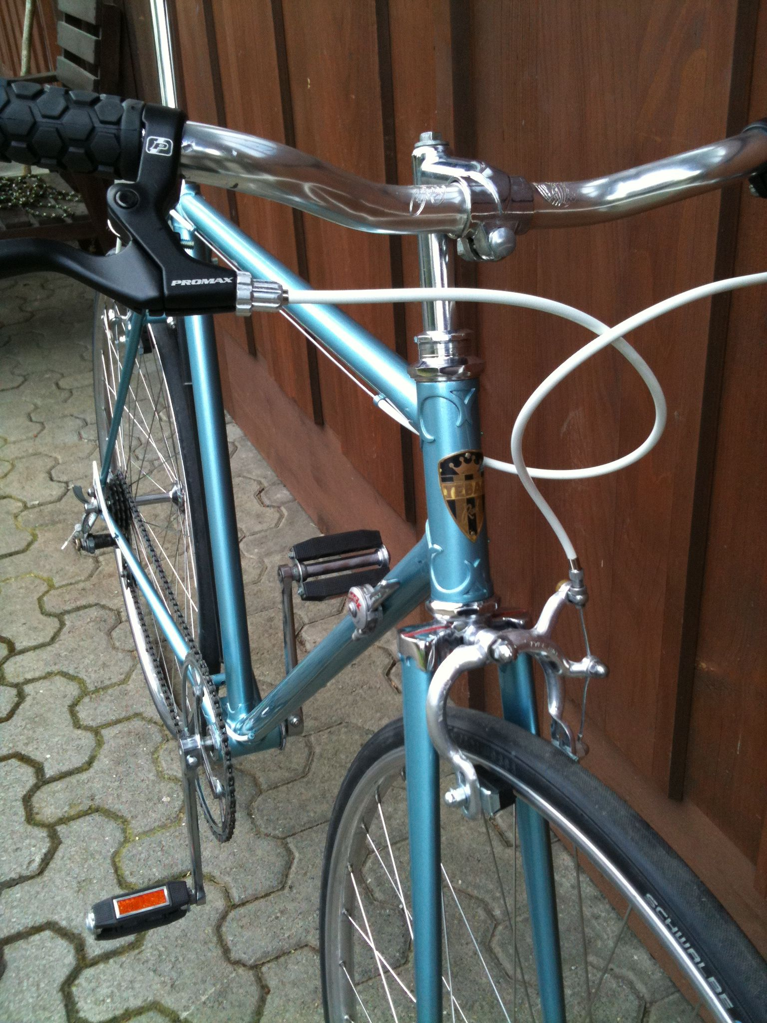 Look jeremy s bicycle rack apartment therapy - Tuning By Nandrolon Vintage Tebag Suisse Bike