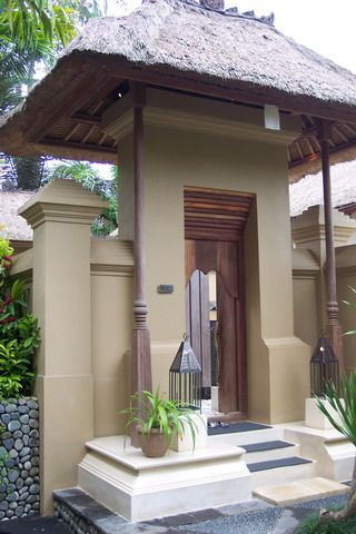 Balinese Entrance For The Love Of Architecture