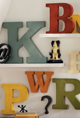 Modern Metal Letters Antiqued Metal Letters Wall Art Letter Wall  Pinterest