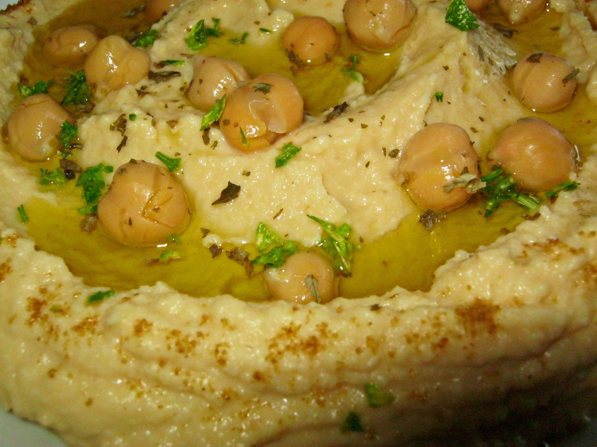 how to make hummus lebanese
