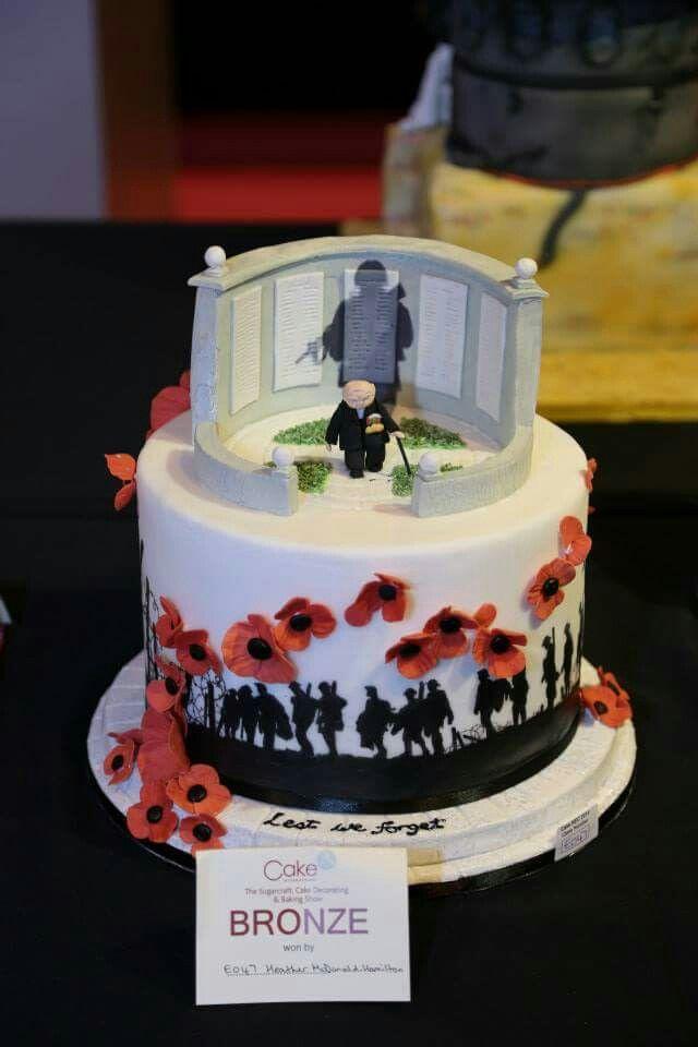 Cake International Remembrance Day