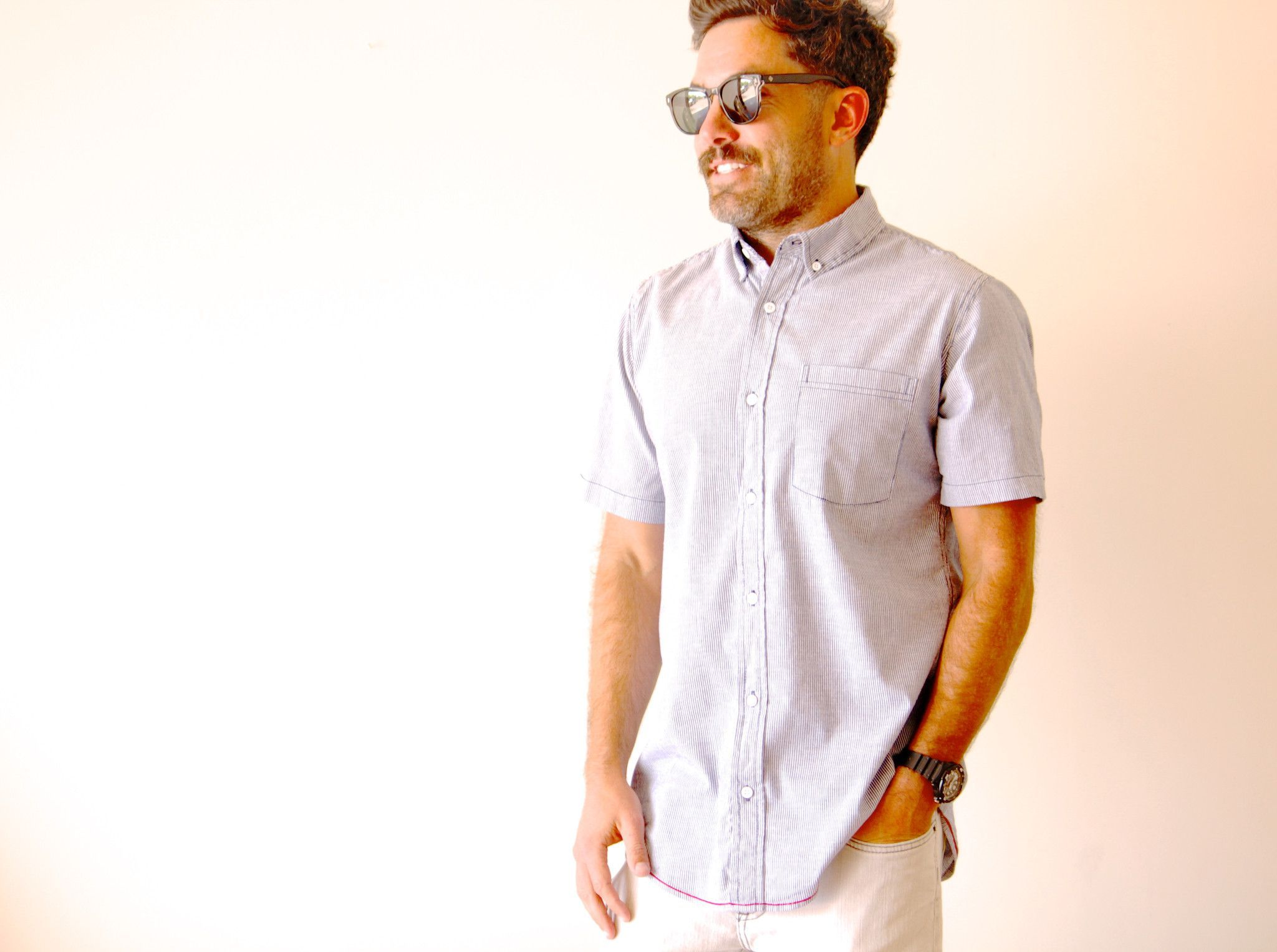 The Lomas Brand - Classic Short Sleeve Button Down