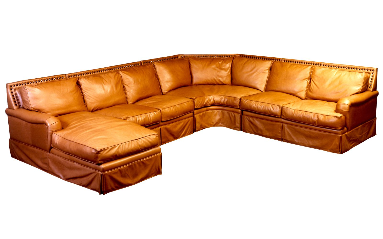 Omnia Leather Hacienda Sectional
