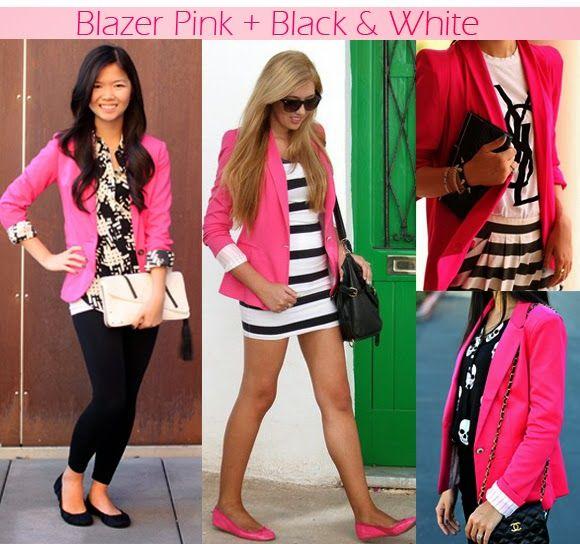 Ouse ser quem você é: Blazer Pink: Uma paixão