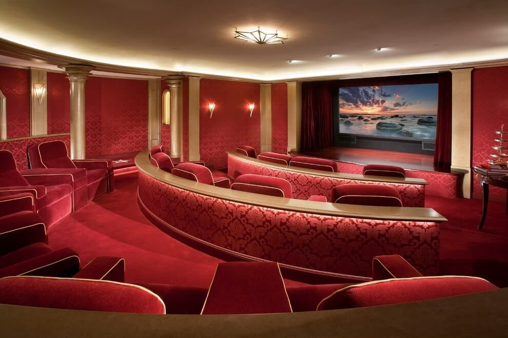 40+ Awesome Basement Home Theater Design Ideas - Luxury ...