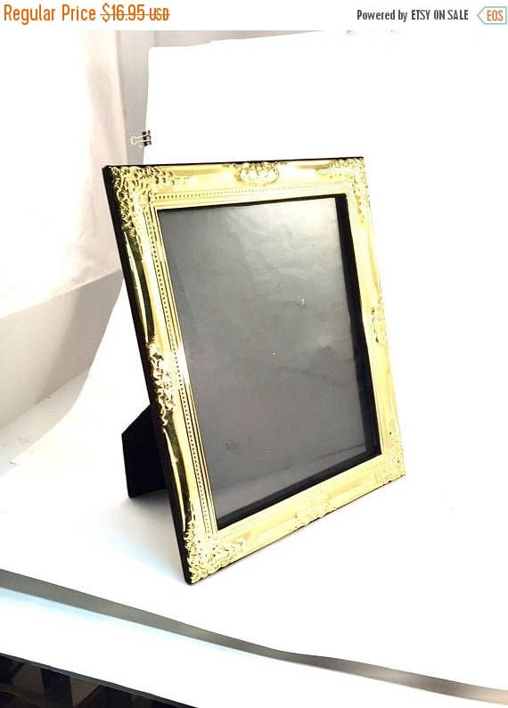 Spring Sale Vintage Brass Frame Ornate Solid Brass Picture Frame