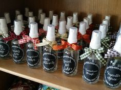 """Make & Take the """"12 Sprays of Christmas"""" and gift to others! #christmas #giftidea http://www.eo.tools/"""