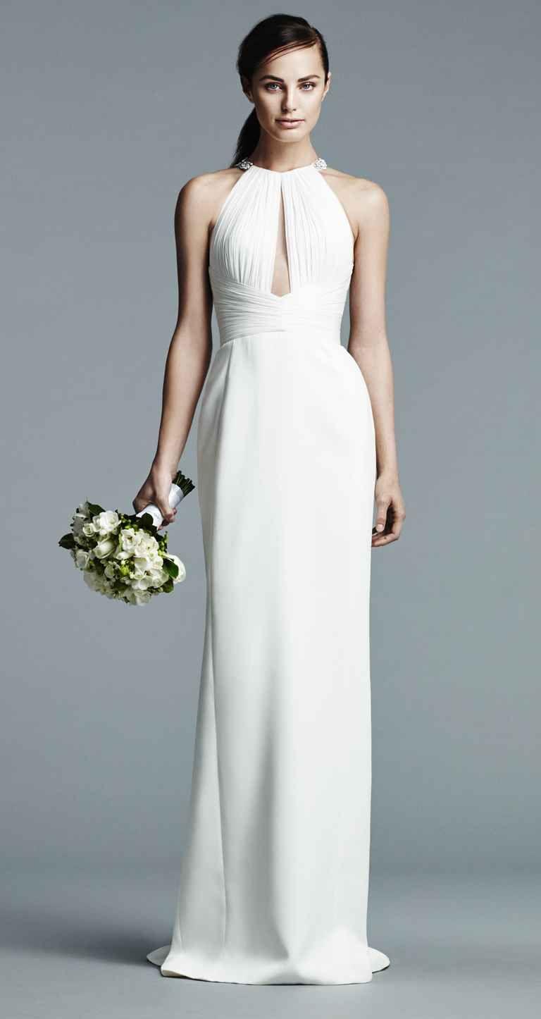 J. Mendel Shows Modern Floral Wedding Dresses for Spring 2017