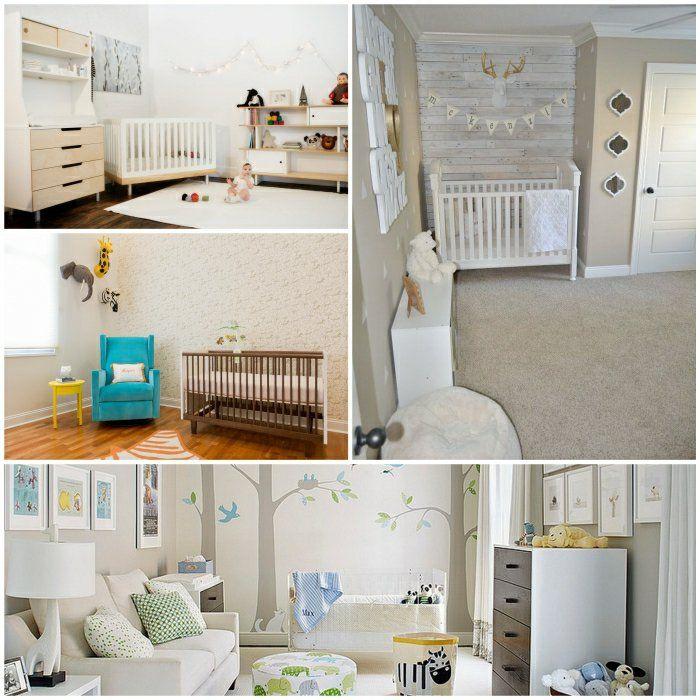 babyzimmer einrichten babyzimmer gestalten babyzimmer ideen | kids ... - Babyzimmer Wandgestaltung Beispiele Neutral