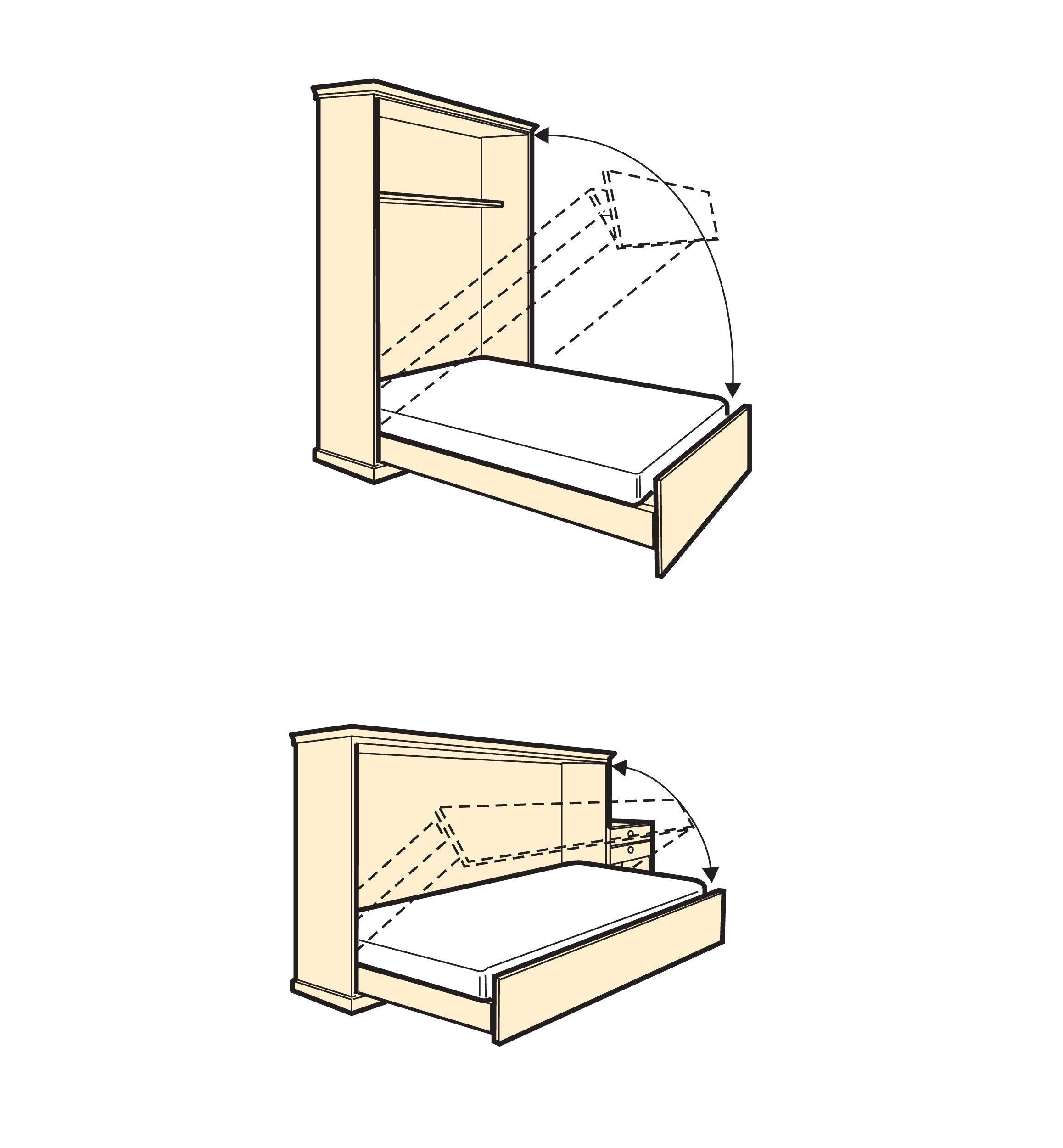 FoldDown Bed Hardware Kits Меблі