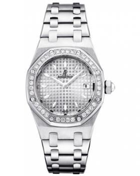 Audemars Piguet Royal Oak Lady Quartz Watch 67601ST.ZZ.1230ST.01 - Women - Swisswatchesmart.com