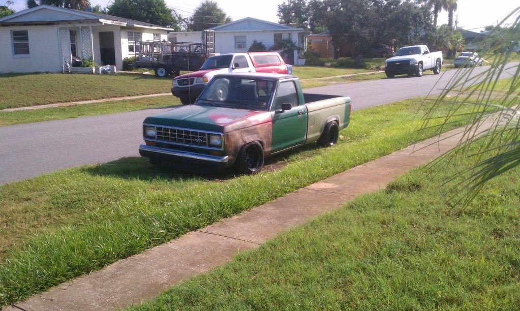 Ford Ranger Slammed With Stance Ford Ranger Park Ranger Ford