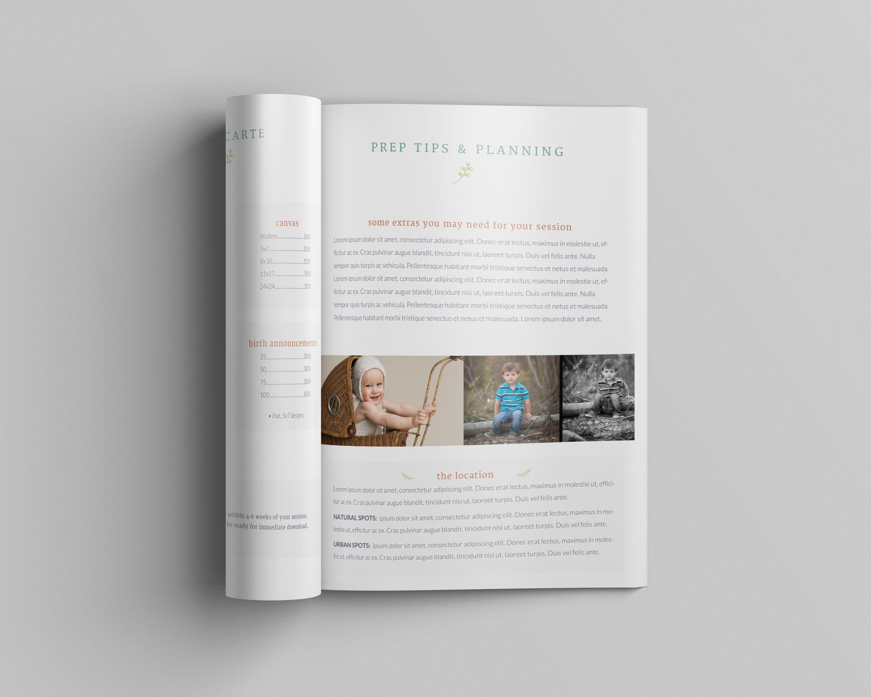 Children\'s Photography Magazine Template, Newborn Magazine Template ...