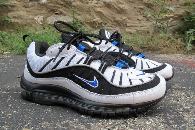 87355fa277241d Nike Air Max 98 (Hyper Cobalt Black)  ThatsFILTHY  streetwear  sneakers   sneakerheads  urban  swagger  sneakerlife  fashion  streetfashion   urbanwear ...