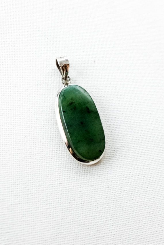 a beautiful creation amazing silver and jade necklace