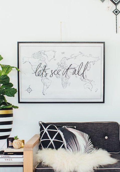 Lets see it all world map room bedrooms and apartments lets see it all world map 3 gumiabroncs Gallery