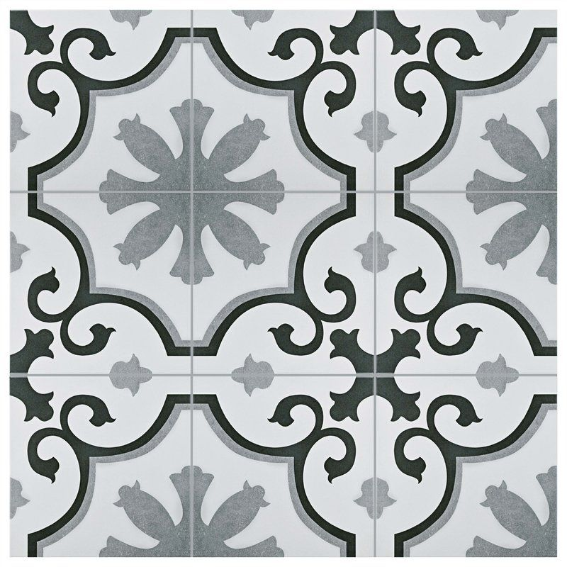 Nouvelle 12 X 12 Ceramic Field Tile Patterned Tile Backsplash Wall Tiles Ceramic Floor