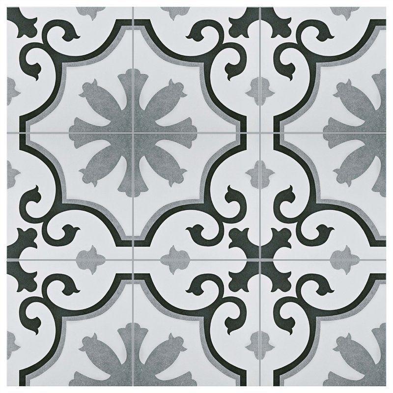 Nouvelle 12 X 12 Ceramic Field Tile Patterned Tile Backsplash Wall Tiles Ceramic Floor