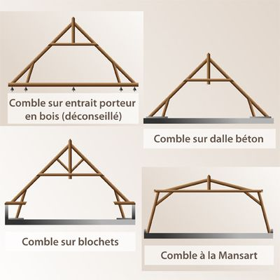 plan fermes combles habitables cabane au canada pinterest combles plans et ferme. Black Bedroom Furniture Sets. Home Design Ideas