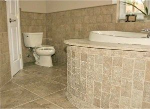 Ideas To Update A Bathroom With Bone Almond Fixtures Including