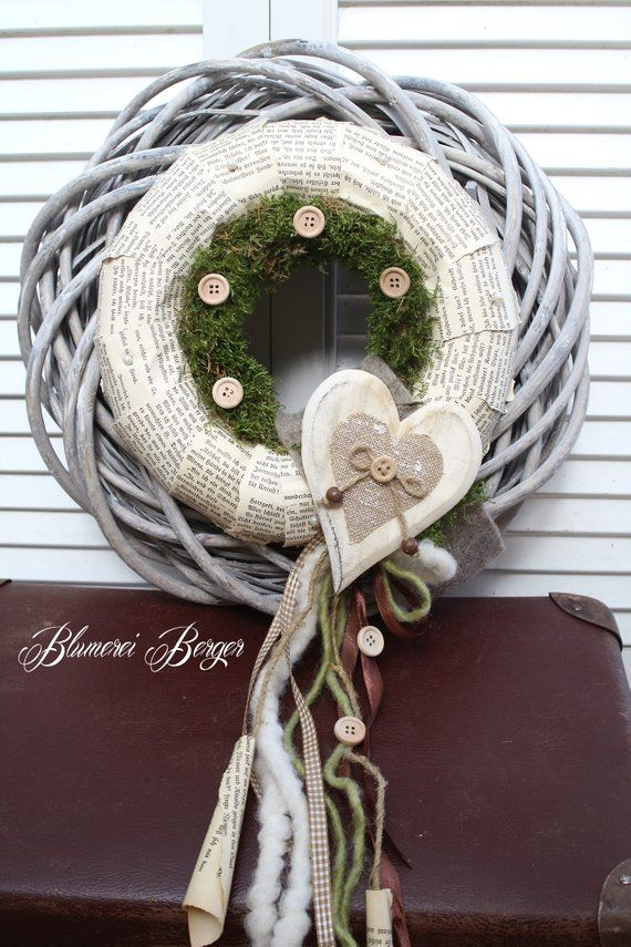 Photo of Different items such as wall or door wreath