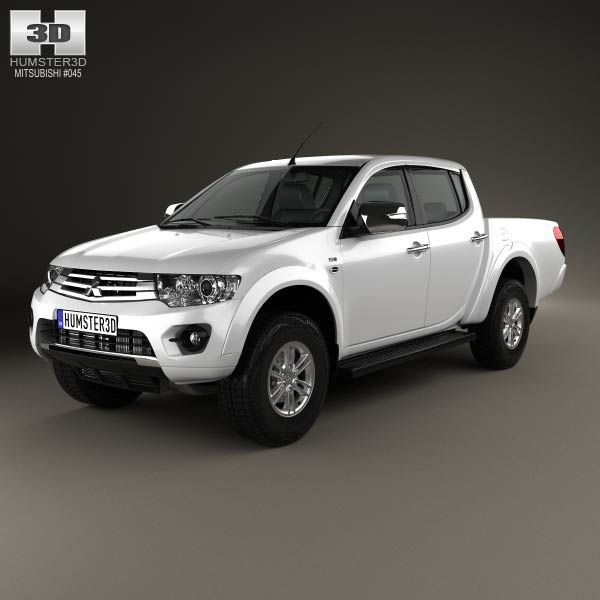 Car Dealerships In Anderson Sc >> Mitsubishi L200 Triton Double Cab HPE 2014 3D model | Models, Davao and August 2014