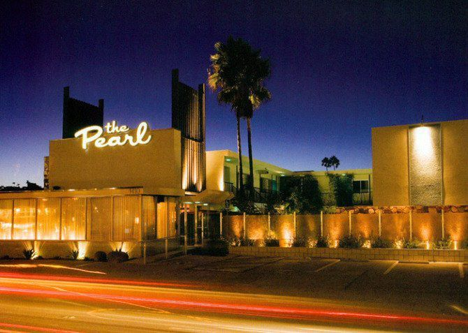 The Pearl Hotel In San Diego, CA. A Vintage, Mid-century