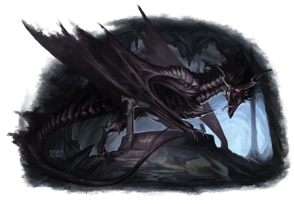 drakk bat dragon by - photo #18