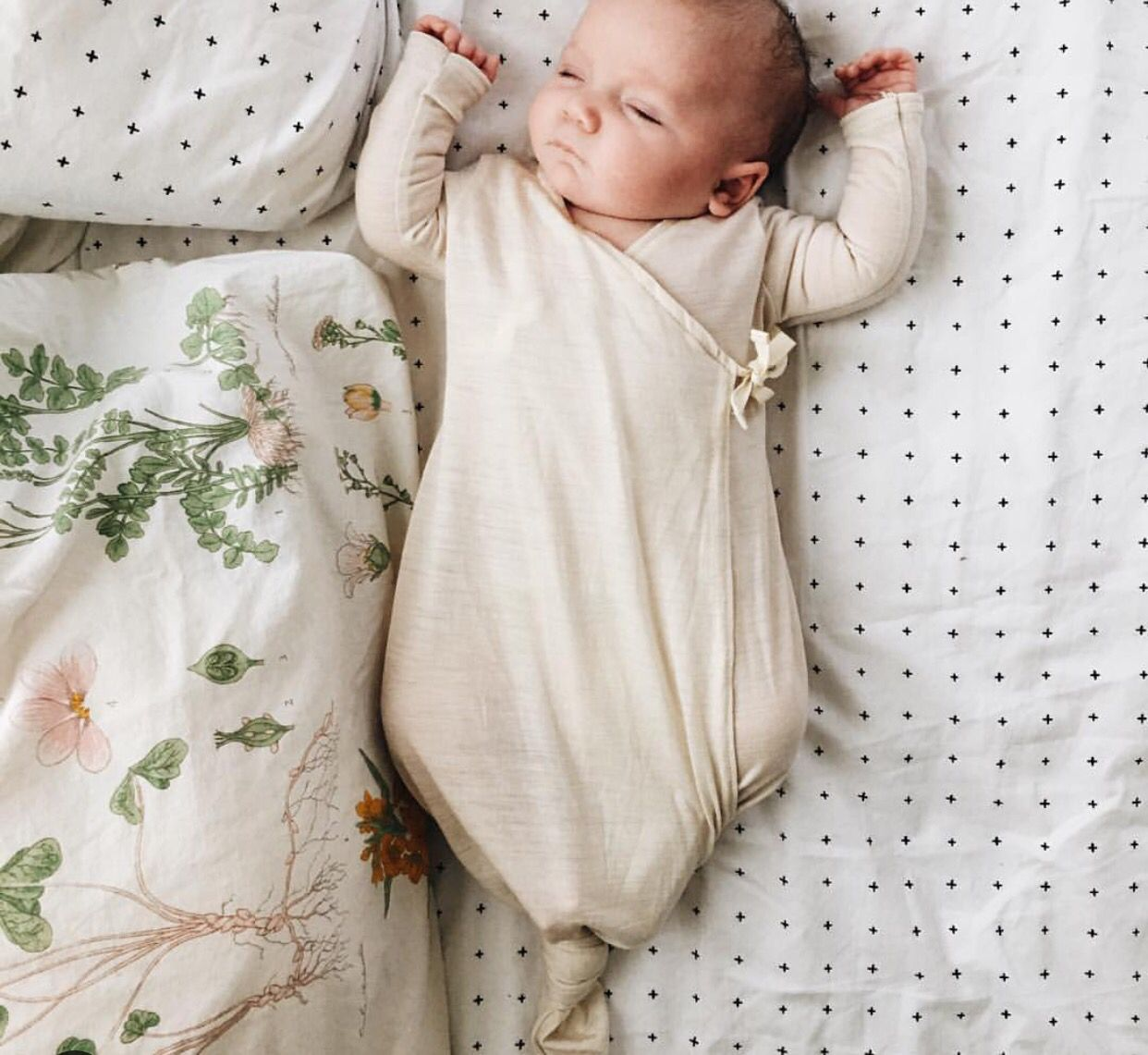 Baby swaddle.