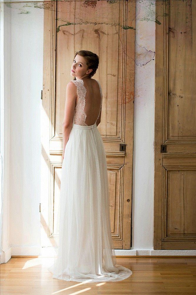 mayor colección de vestidos novia de espalda descubierta 2015 (ii