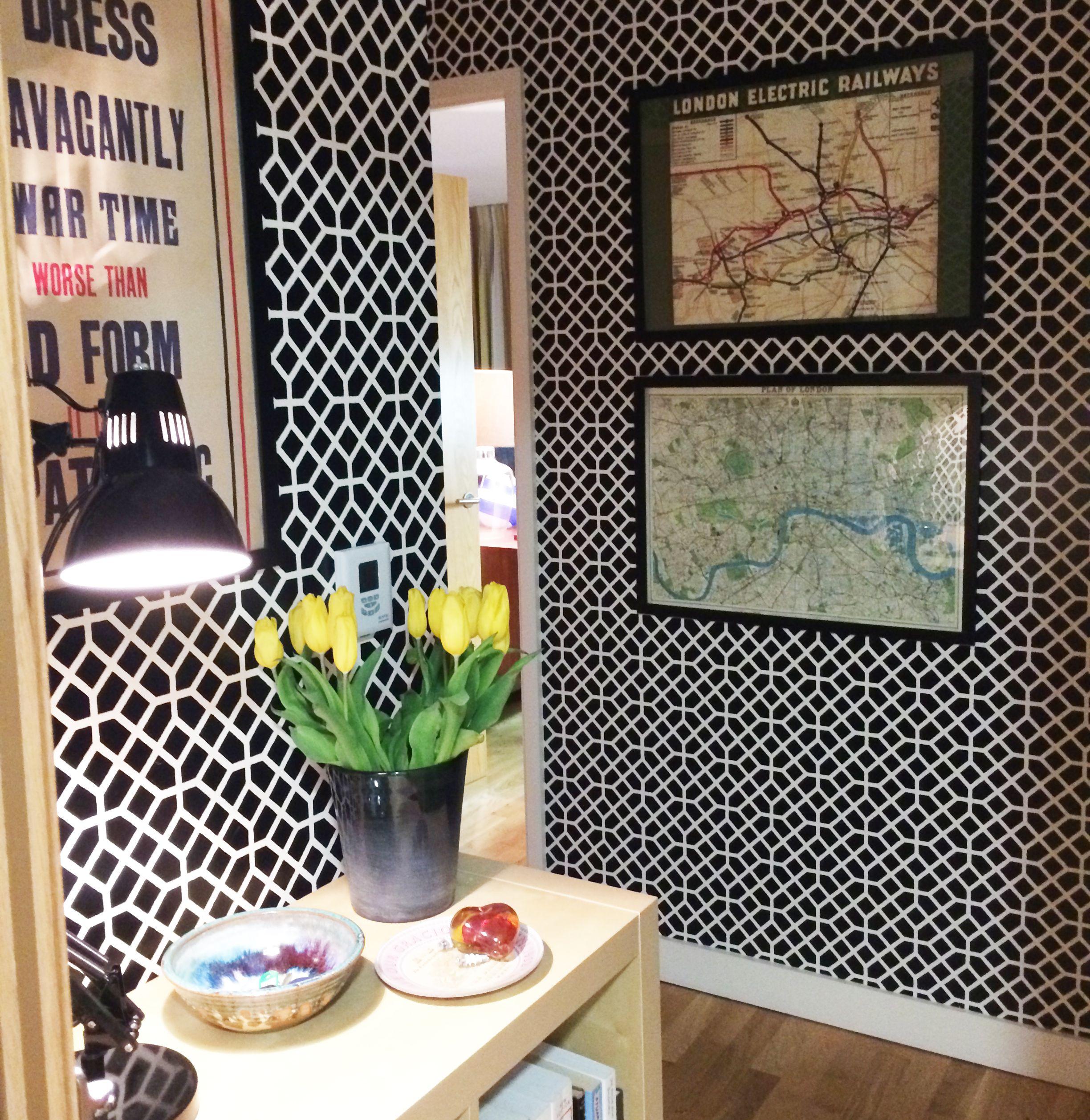 Designers Guild Pisani wallpaper | wallcoverings | Pinterest
