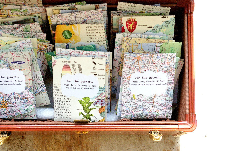 Saattütchen | Gastgeschenke | Pinterest | Seed packets, Shower ...